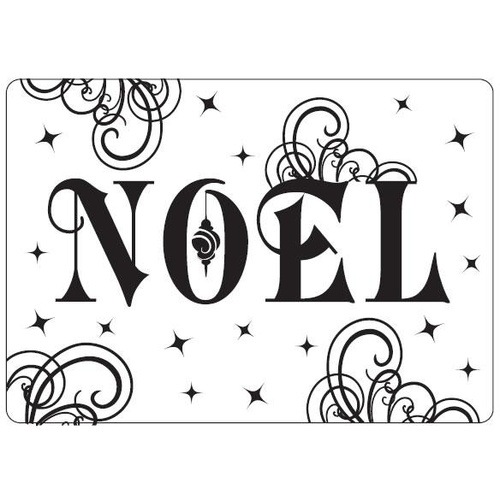 Crafts-Too Embossing Folder Noel 4.25x5.5