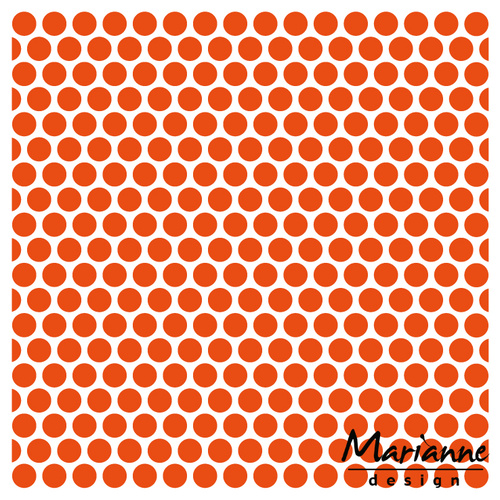 Marianne Design Embossing Folder 5x5 Dots DF3431