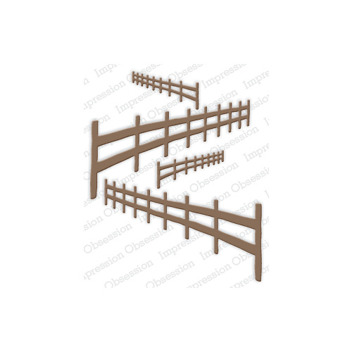 Impression Obsession Die Country Fences DIE380R