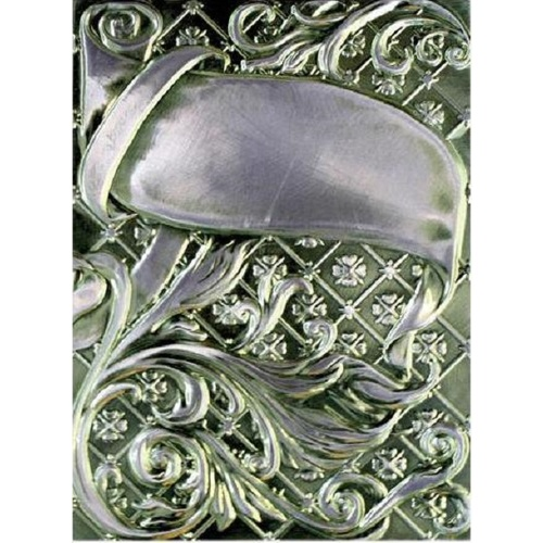 Spellbinders M-Bossabilities 3D Embossing Folder Ornamental Swirls E3D-005