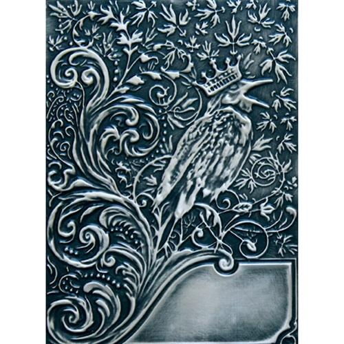 Spellbinders M-Bossabilities 3D Embossing Folder Noble Rook E3D-008