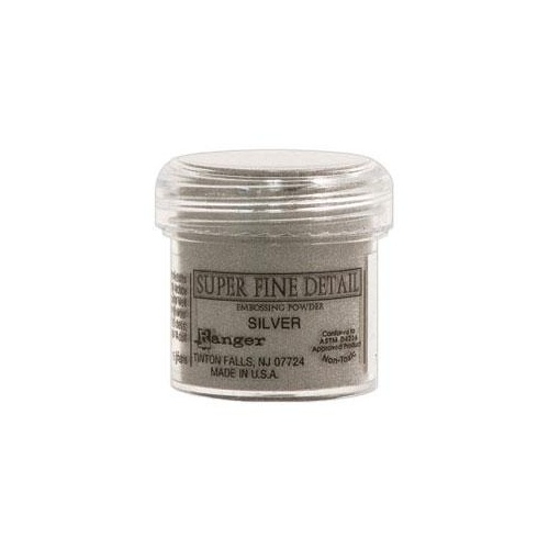 Ranger Super Fine Detail Embossing Powder Silver