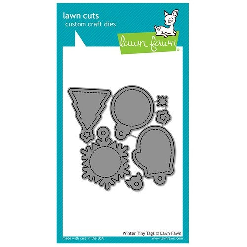 Lawn Fawn Cuts Winter Tiny Tags LF1494