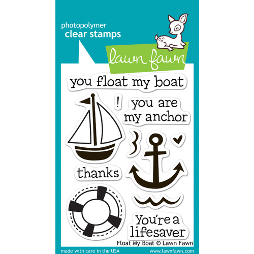 Lawn Fawn Stamps Float My Boat LF654