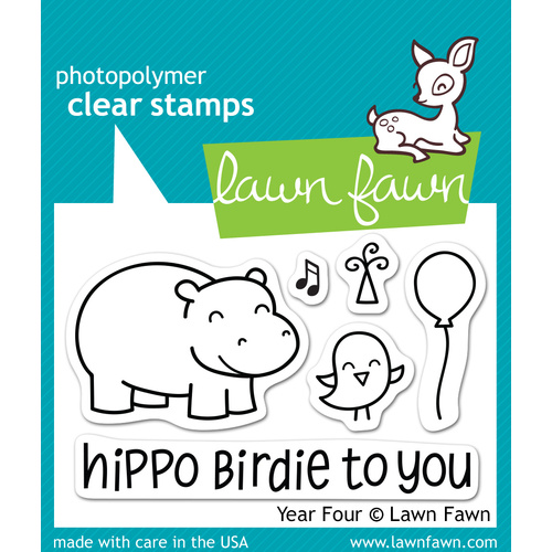 Lawn Fawn Stamps Year Four LF655