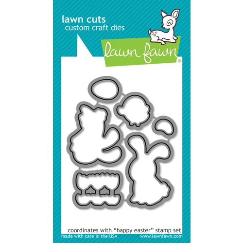 Lawn Fawn Cuts Happy Easter Dies LF833