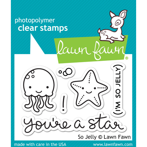 Lawn Fawn Stamps So Jelly LF899