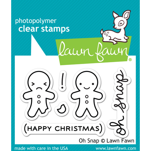 Lawn Fawn Stamps Oh Snap LF983