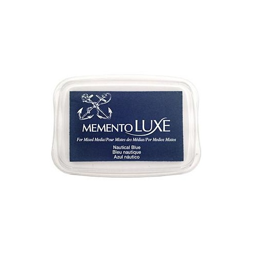Memento LUXE Ink Pad Nautical Blue