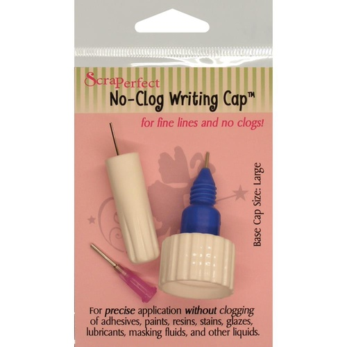 ScraPerfect No-Clog Writing Cap Large