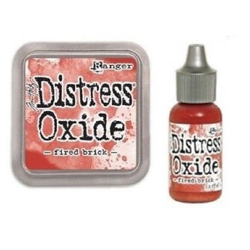 Tim Holtz Distress Oxide Ink Pad + Reinker Fired Brick